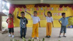 performance at Catig-Lacadon Elementary
