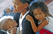 Food and Water for Philippine Typhoon Survivors