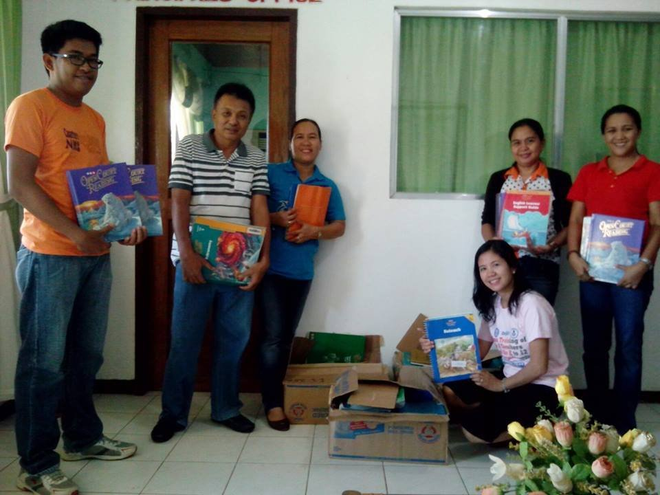 New books at Cuartero High School from AAI