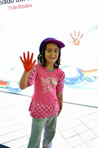 Hand washing practice at Global Hand Washing Day