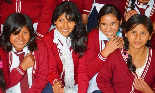 32 girl-friendly schools in Bolivia