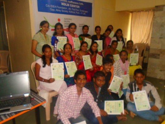 NDLM Certificate distribution in Pune IDEA Centre