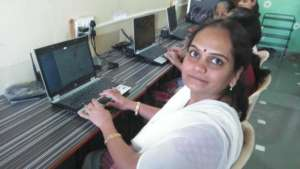 Suvarna in the computer center