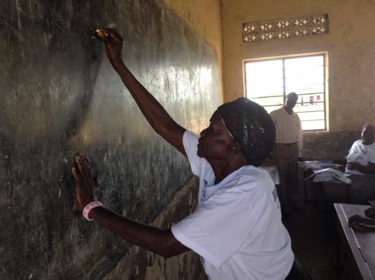 Literacy Learner from Gulu 2016