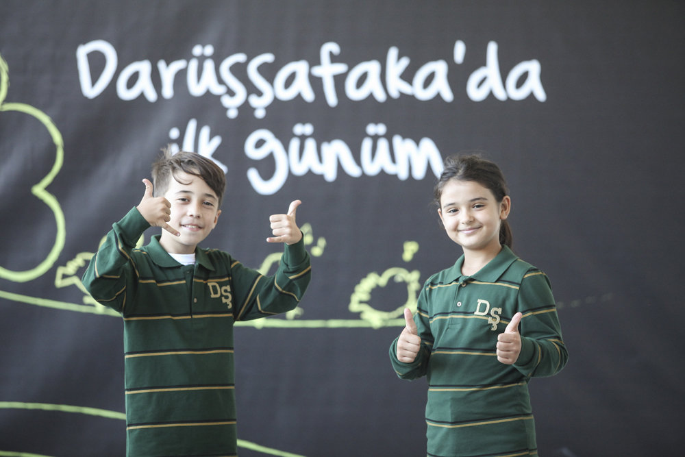 Students of Darussafaka Schools