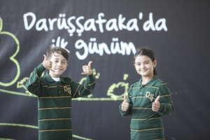 Students of Darussafaka Schools