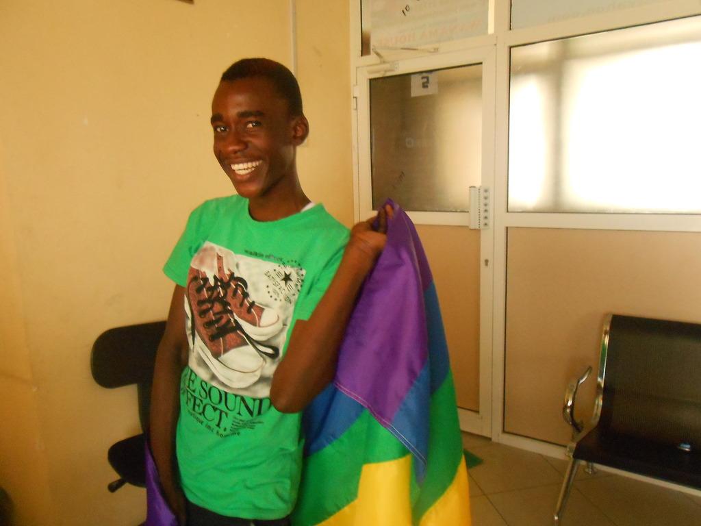 Ally aged 13 a Gay youth
