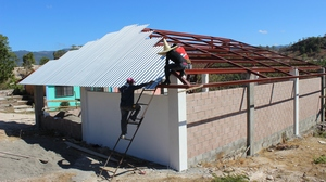 Roofing in Process