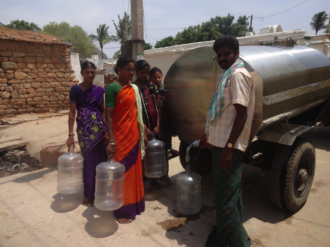 Drinking water for 24 villages of Thimmampalli GP
