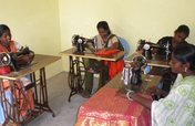 Provide sewing training to 60 women and girls