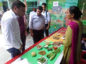 Healthy Eating Demonstration at Sonipat Festival