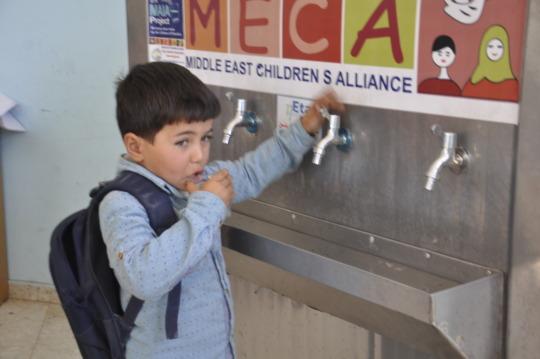 Ajial Kindergarten's new water unit works well!
