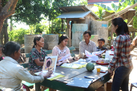 Reflection workshop on livelihood progress