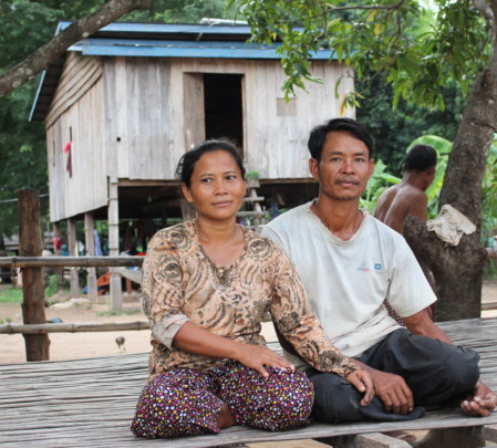 Through the project this couple can host tourists