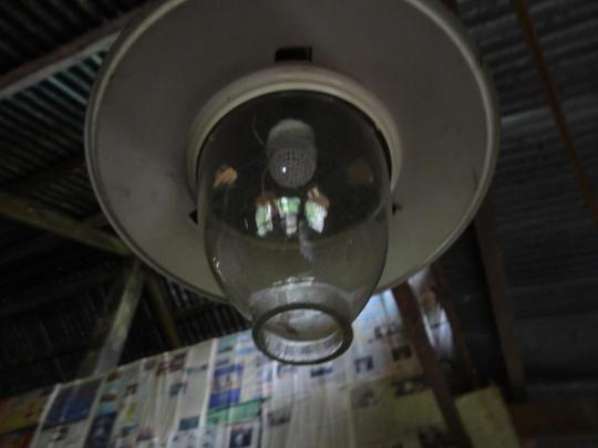 Unfunctioning lamp of Ms. Vibol