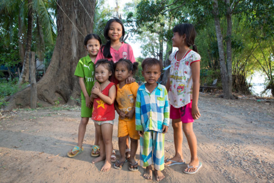 Kids in Mondulkiri