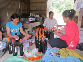 Labelling the fish sauce