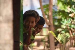 Children in Saob Kroum Village