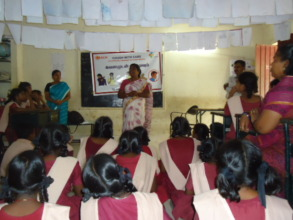Educating students on importance of cough hygeine