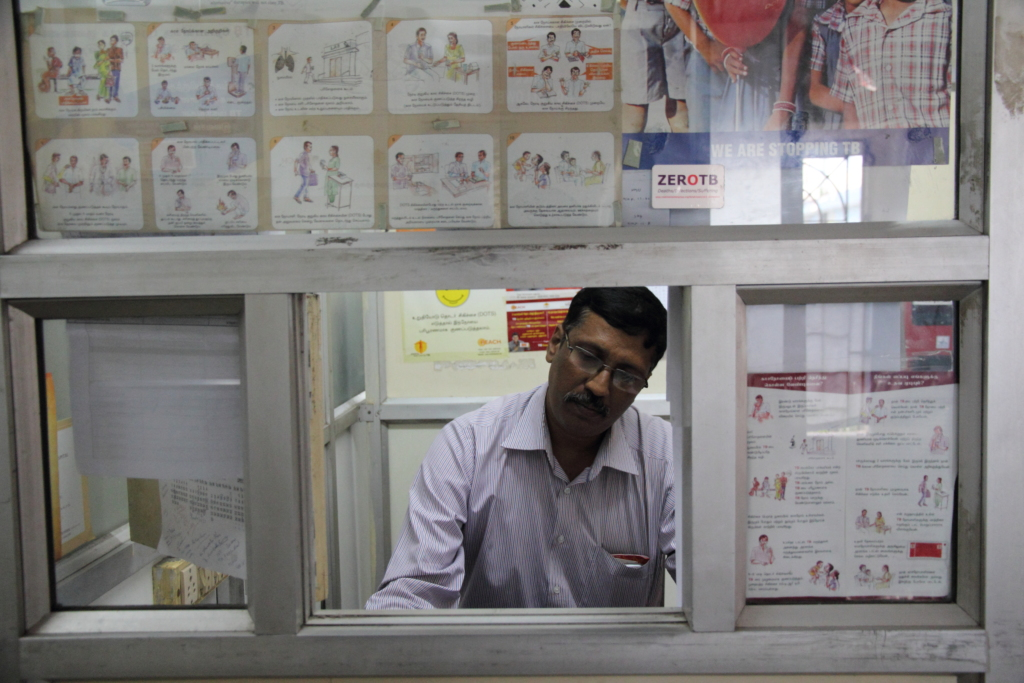 Mr.Joseph.S- counsels TB patients