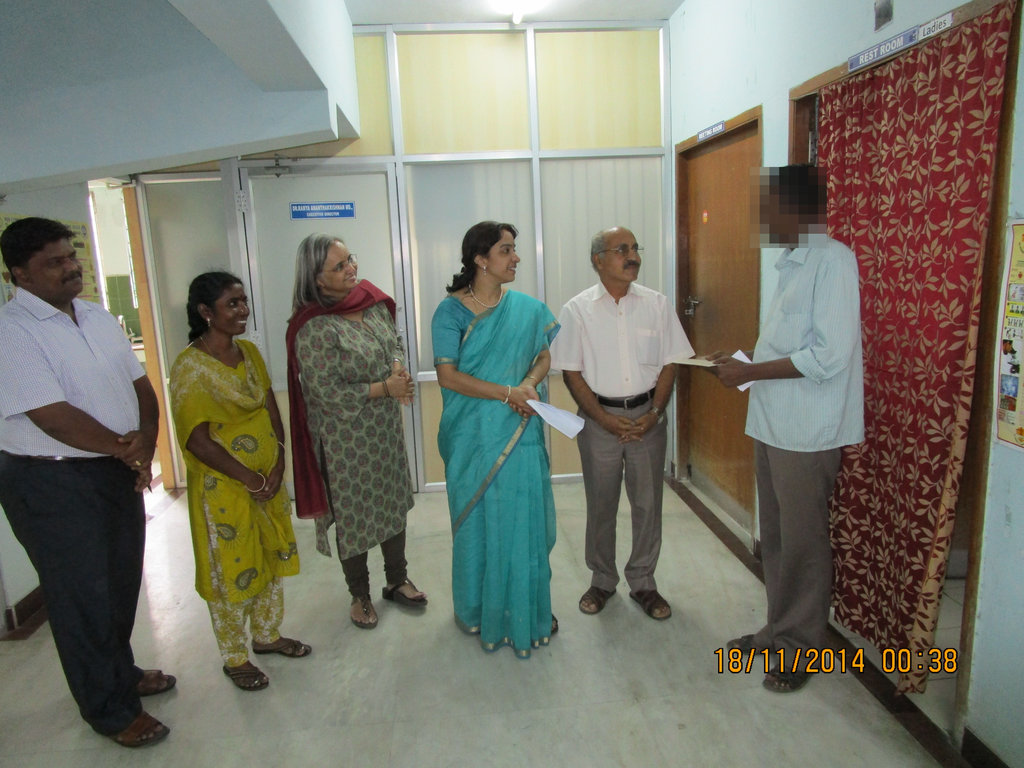 Support for an MDR TB patient