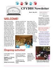 CFYDDI Newsletter (PDF)