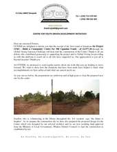 CFYDDI__Progress_Report_for_Project_15365__Build_a_Community_Centre_for_300_Ugandan_Youth.pdf (PDF)