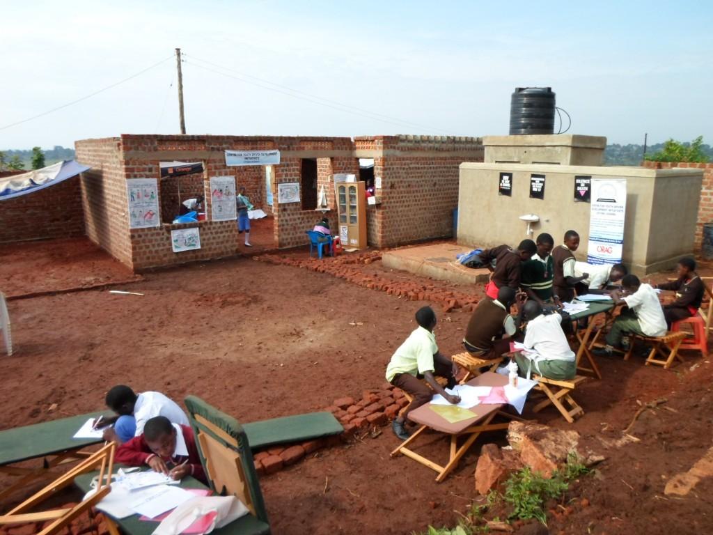 CFYDDI community centre under construction