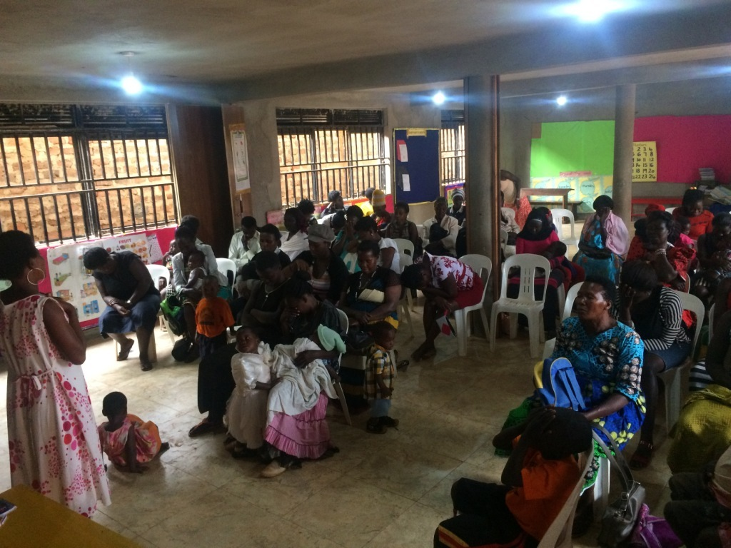 women meeting at the centre