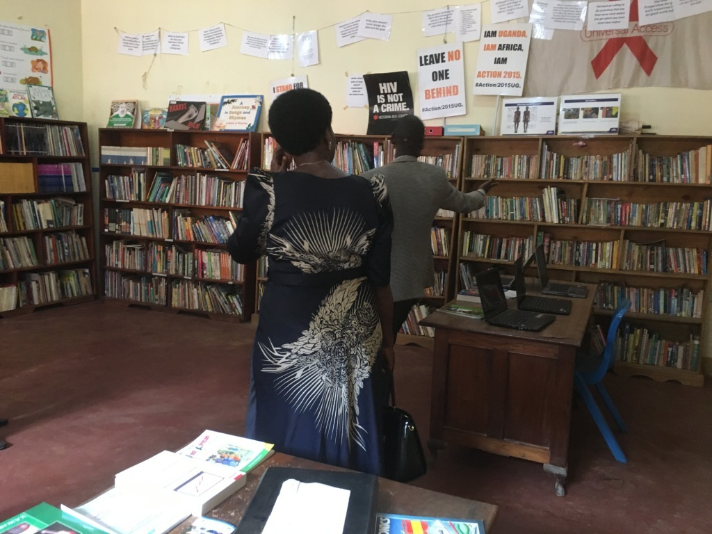 Well organised community library after moving clas