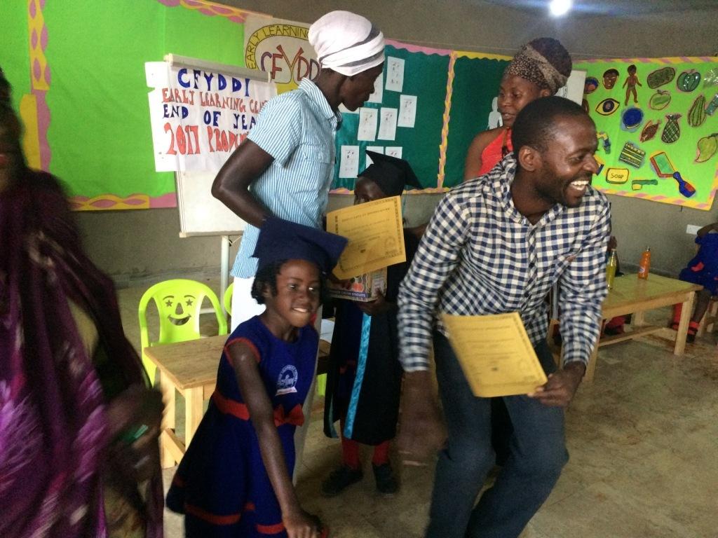 A child graduates to primary class