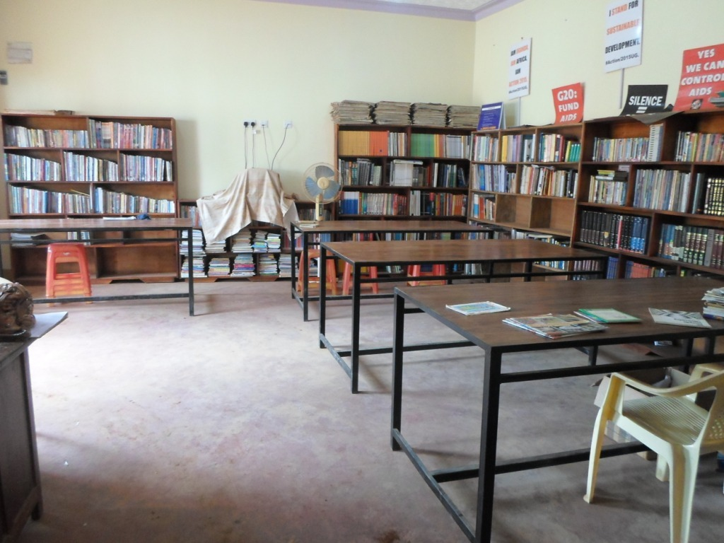 its a sudden change (Inside the reading room)