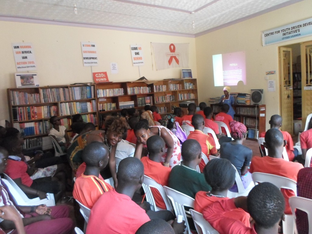 Participants that attended the center womens Day