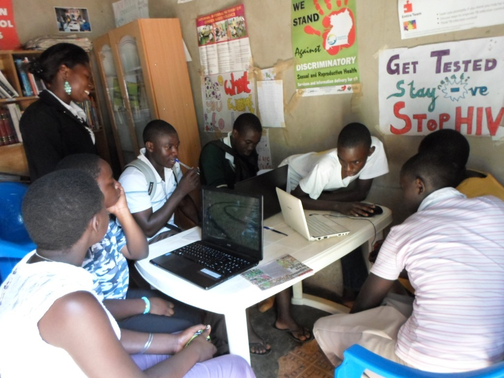 The chance to have access to computer training