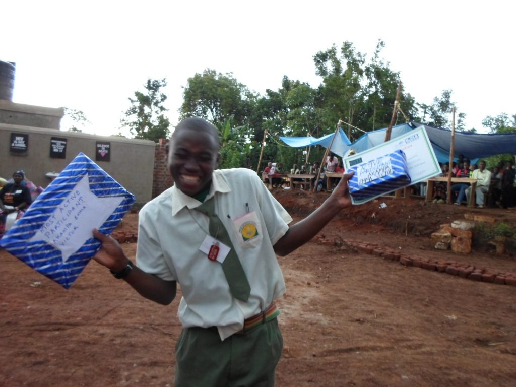 Camp participant celebrates winning two Awards