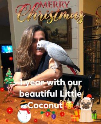 Coco with her Mom, Valdirene