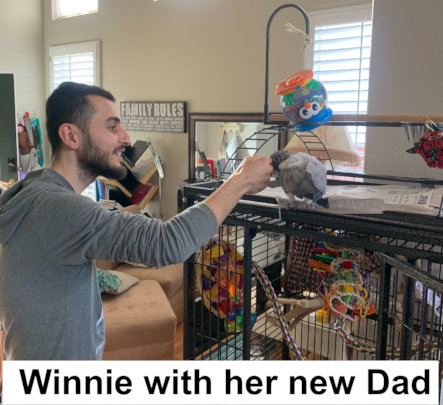 WINNIE MEETING HER NEW DAD- THEIR LOVESTORY BEGINS