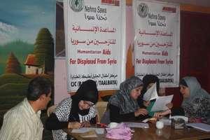 Distributing coupons to families