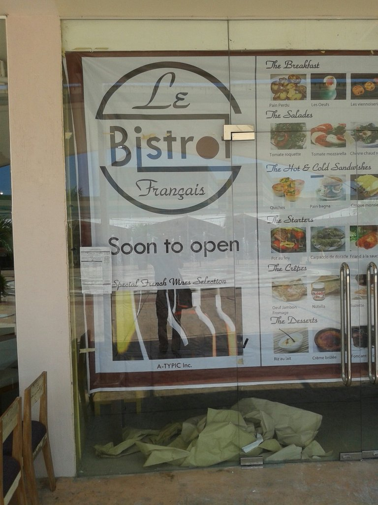 Soon to open !!!