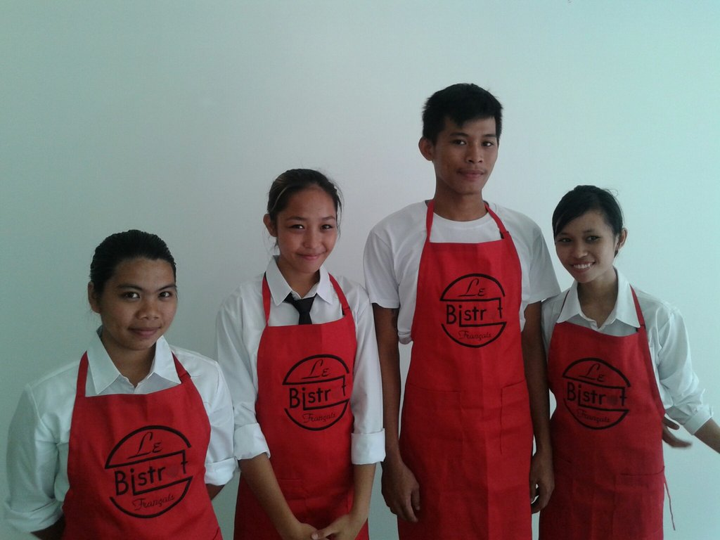 First batch of French Touch Bistrot Training