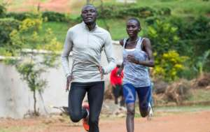 Refugees athletes training for Rio Olympics 2016