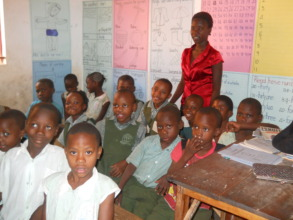 Pupils in Class with their Teacher