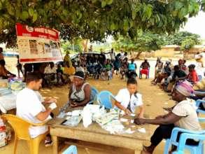 Ongoing malaria screening