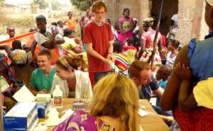 Our wonderful health screening volunteers