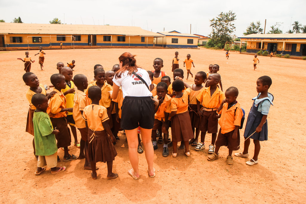Sponsor Education & Healthcare for Kids in Ghana