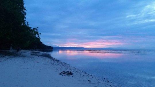 "Dawn in the area Nautilus seeks to ""mine"""