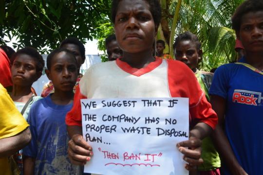 Fight to BAN Freida Mine in Sepik