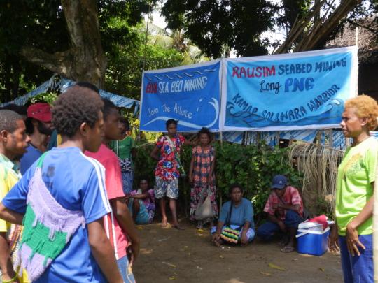 Community Awareness, Seabed mining KarKar Island.
