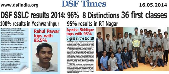 DSF Students - Grade X Performance