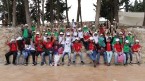 SMILES on the group picture of Karamas recent trip
